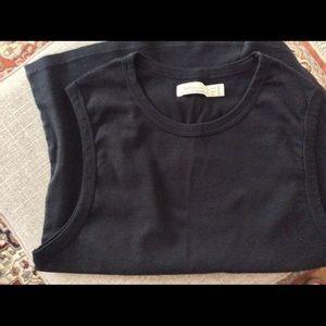 ZARA Basics Black t-shirt - tank top in size L